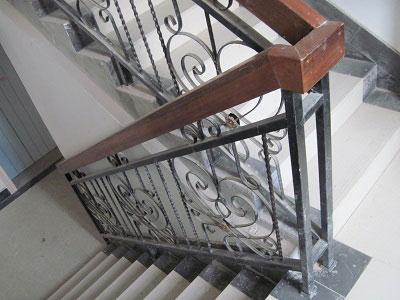 钢木组合楼梯扶手